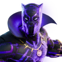 Fortnite Black Panther (Kinetically Charged) Outfit Skin